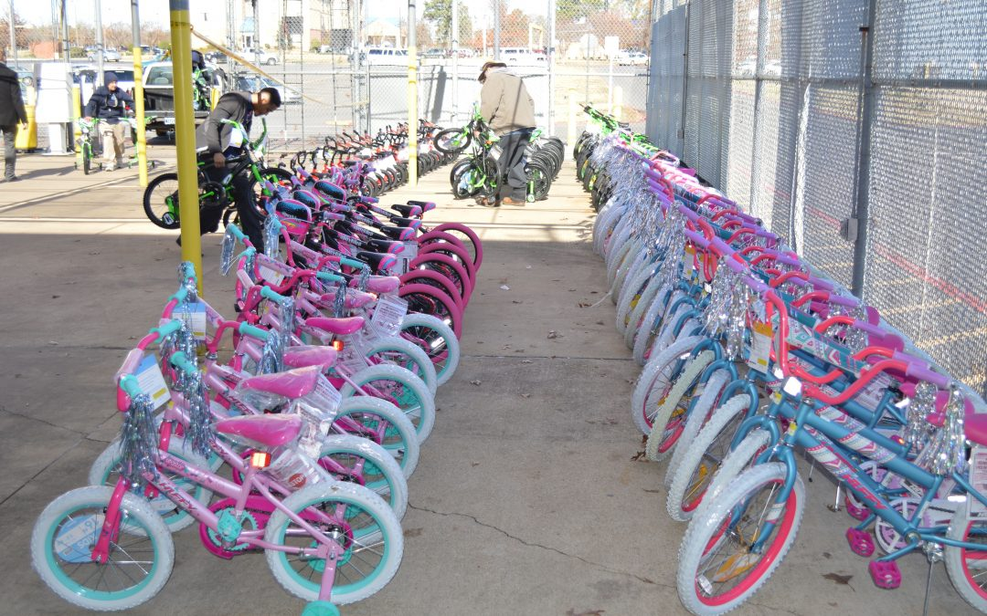 Caddo DA, Volunteers for Youth Justice to Gift Bikes