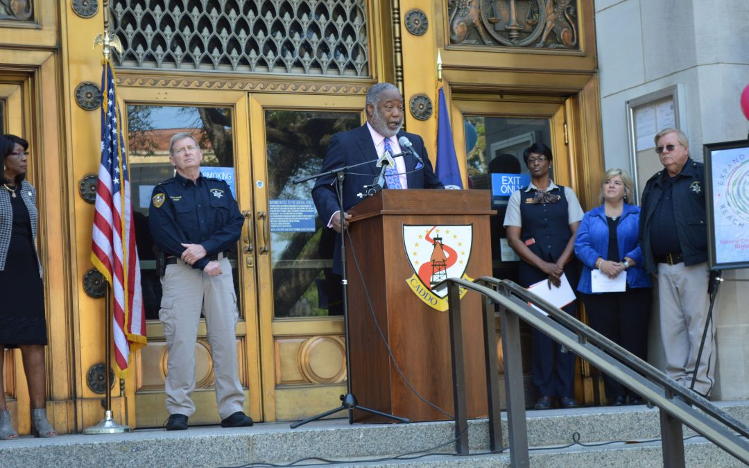 Caddo Parish Opens Crime Victims' Rights Week