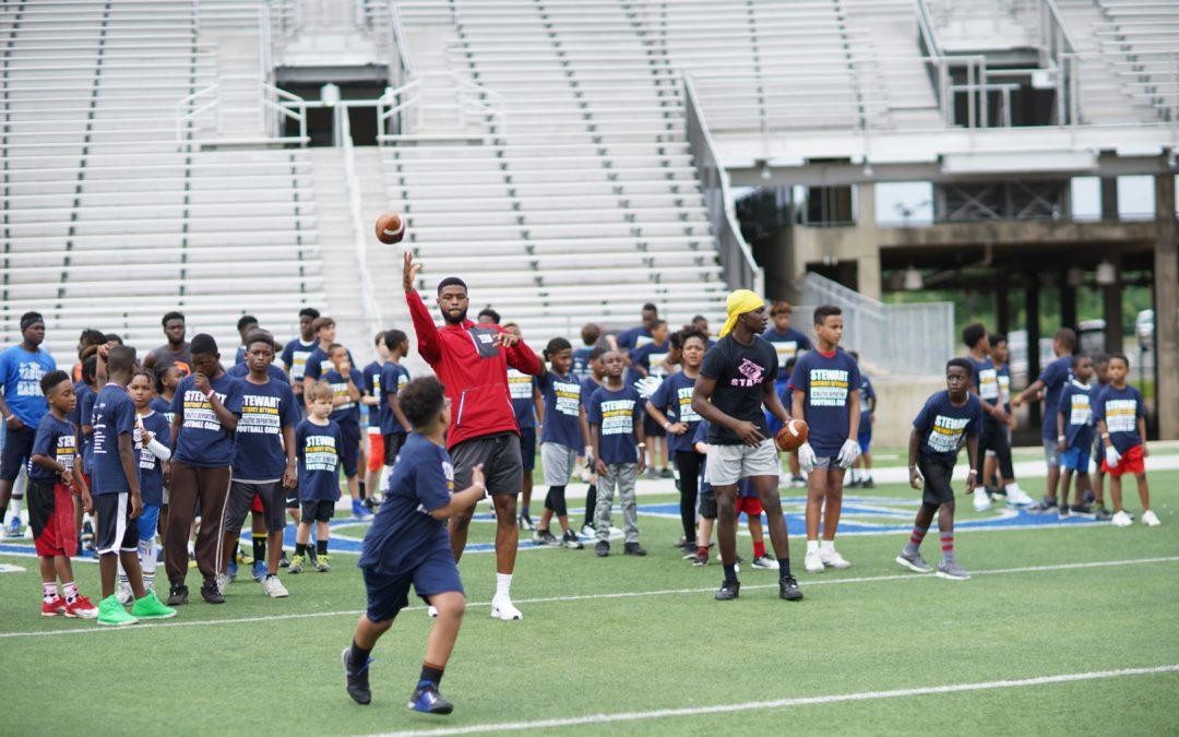 Caddo DAs Football Camp Draws Almost 200